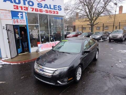 2011 Ford Fusion for sale at G & R Auto Sales in Detroit MI