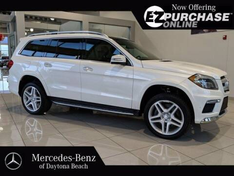 2015 Mercedes-Benz GL-Class for sale at Mercedes-Benz of Daytona Beach in Daytona Beach FL