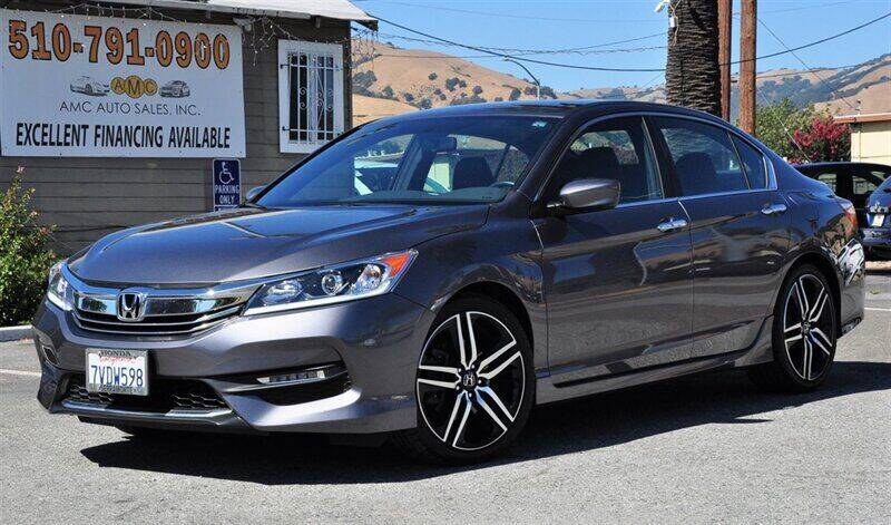 2017 Honda Accord for sale at AMC Auto Sales, Inc. in Fremont CA