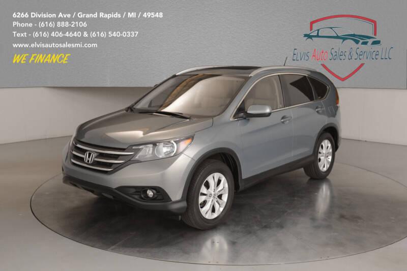 2012 Honda CR-V for sale at Elvis Auto Sales LLC in Grand Rapids MI