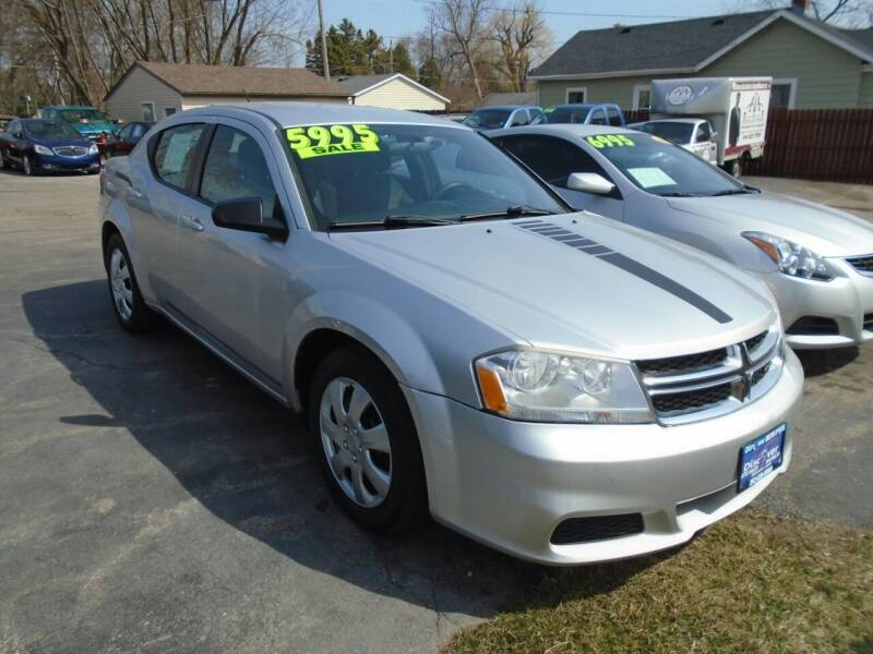 2011 Dodge Avenger for sale at DISCOVER AUTO SALES in Racine WI