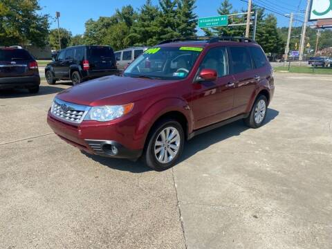 2011 Subaru Forester for sale at Wolfe Brothers Auto in Marietta OH