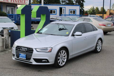 2013 Audi A4 for sale at BAYSIDE AUTO SALES in Everett WA