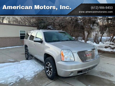 2007 GMC Yukon for sale at American Motors, Inc. in Farmington MN