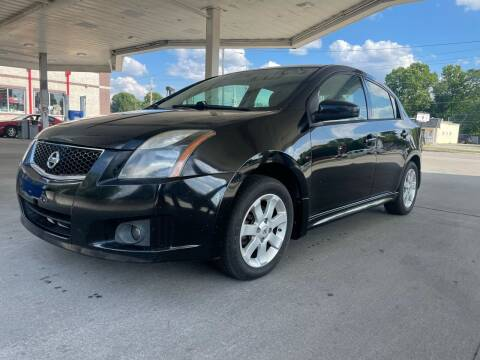2012 Nissan Sentra for sale at JE Auto Sales LLC in Indianapolis IN