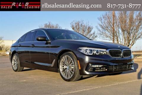 2017 BMW 5 Series for sale at RLB Sales and Leasing in Fort Worth TX
