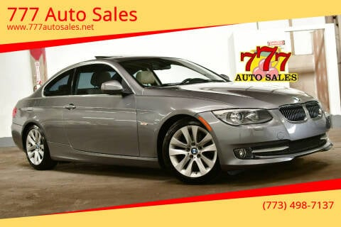 2012 BMW 3 Series for sale at 777 Auto Sales in Bedford Park IL