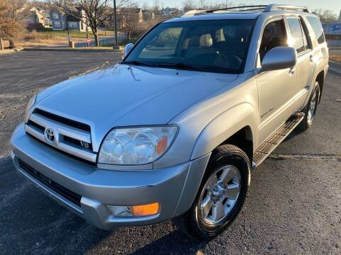 2004 Toyota 4Runner for sale at Supreme Auto Gallery LLC in Kansas City MO