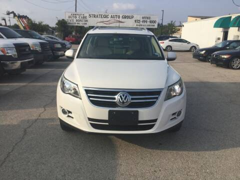 2010 Volkswagen Tiguan for sale at Strategic Auto Group in Garland TX