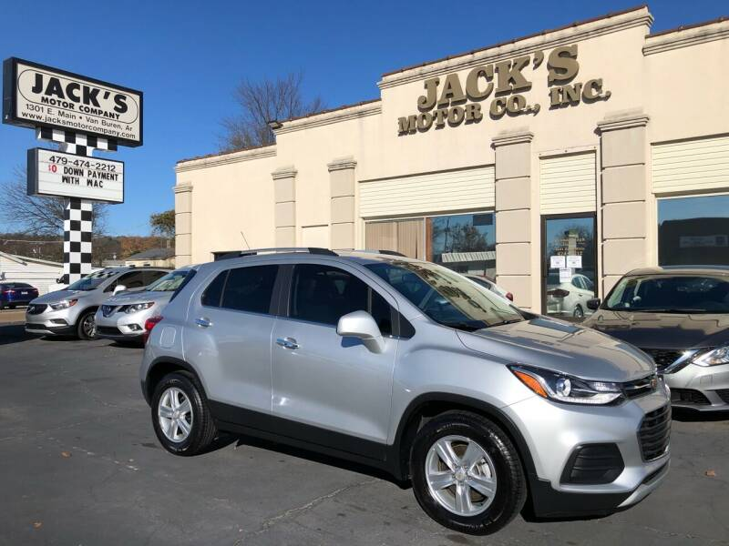 2018 Chevrolet Trax for sale at JACK'S MOTOR COMPANY in Van Buren AR