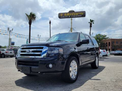 2013 Ford Expedition for sale at A MOTORS SALES AND FINANCE - 5630 San Pedro Ave in San Antonio TX