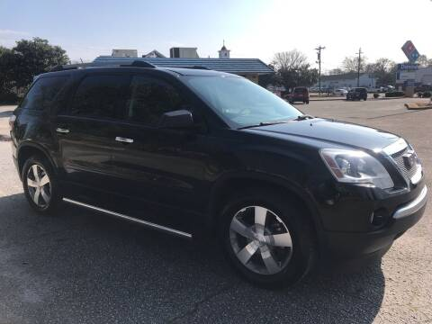 2010 GMC Acadia for sale at Cherry Motors in Greenville SC
