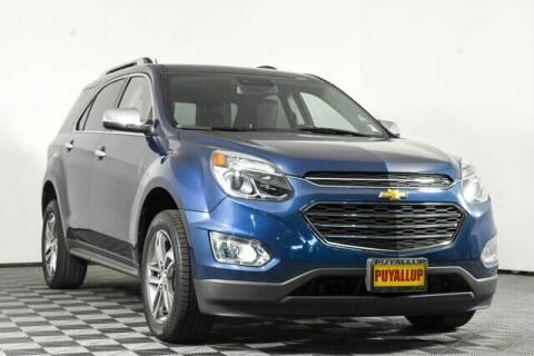 2017 Chevrolet Equinox for sale at Washington Auto Credit in Puyallup WA
