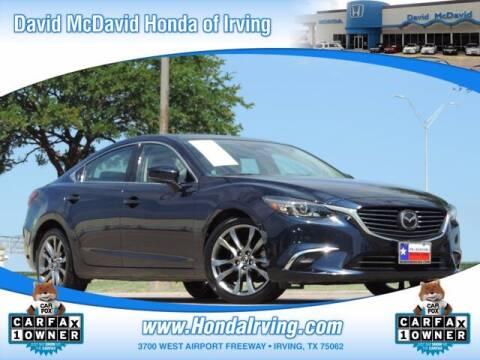 2017 Mazda MAZDA6 for sale at DAVID McDAVID HONDA OF IRVING in Irving TX