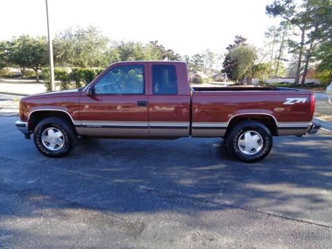 1998 GMC Sierra 1500 for sale at BALKCUM AUTO INC in Wilmington NC