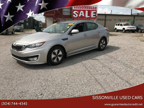 2013 Kia Optima Hybrid for sale at Sissonville Used Cars in Charleston WV