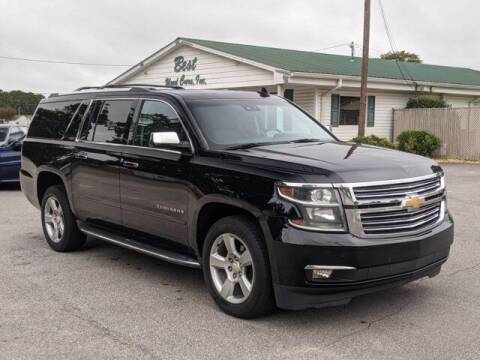 2015 Chevrolet Suburban for sale at Best Used Cars Inc in Mount Olive NC
