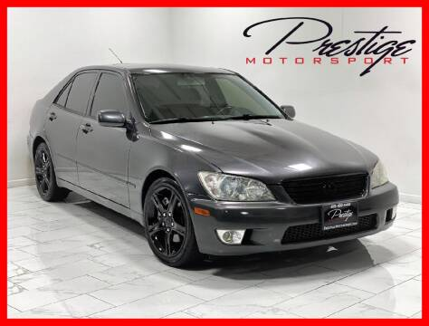 2001 Lexus IS 300 for sale at Prestige Motorsport in Rancho Cordova CA