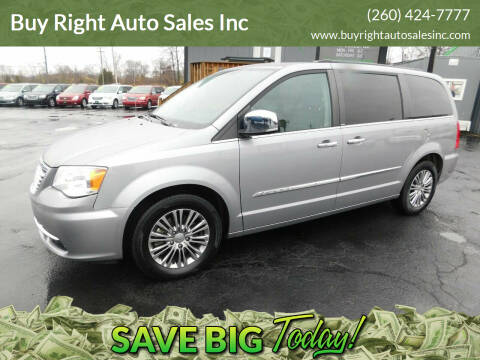 2014 Chrysler Town and Country for sale at Buy Right Auto Sales Inc in Fort Wayne IN