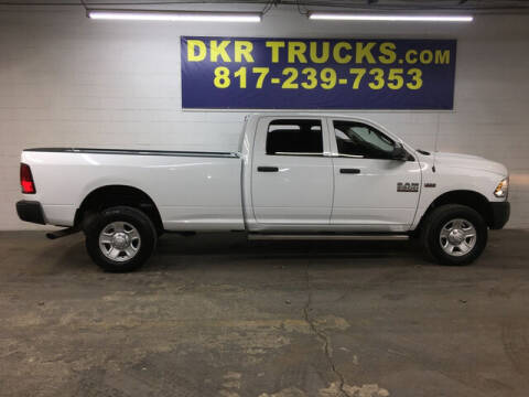 2017 RAM Ram Pickup 2500 for sale at DKR Trucks in Arlington TX
