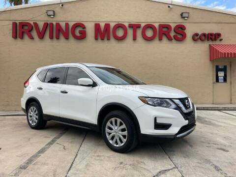 2017 Nissan Rogue for sale at Irving Motors Corp in San Antonio TX