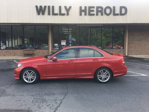 2014 Mercedes-Benz C-Class for sale at Willy Herold Automotive in Columbus GA