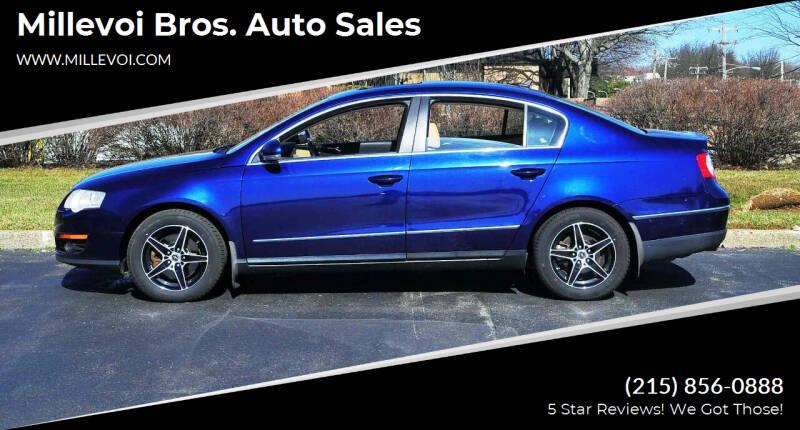2007 Volkswagen Passat for sale at Millevoi Bros. Auto Sales in Philadelphia PA