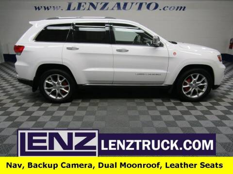 2014 Jeep Grand Cherokee for sale at LENZ TRUCK CENTER in Fond Du Lac WI