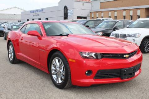2015 Chevrolet Camaro for sale at SHAFER AUTO GROUP in Columbus OH