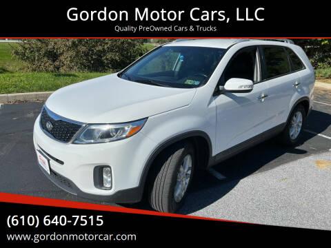 2014 Kia Sorento for sale at Gordon Motor Cars, LLC in Frazer PA