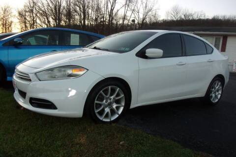 2013 Dodge Dart for sale at Dave Franek Automotive in Wantage NJ