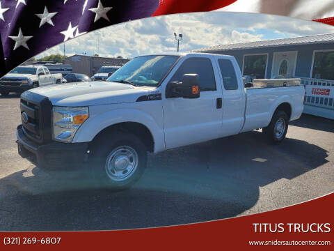 2012 Ford F-250 Super Duty for sale at Titus Trucks in Titusville FL