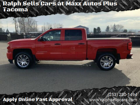 2018 Chevrolet Silverado 1500 for sale at Ralph Sells Cars at Maxx Autos Plus Tacoma in Tacoma WA