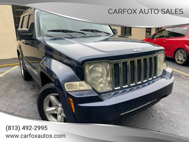 2008 Jeep Liberty for sale at Carfox Auto Sales in Tampa FL