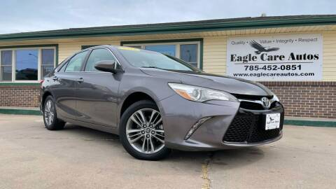 2015 Toyota Camry for sale at Eagle Care Autos in Mcpherson KS