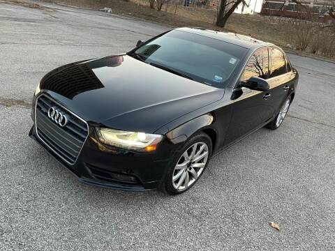 2013 Audi A4 for sale at Supreme Auto Gallery LLC in Kansas City MO