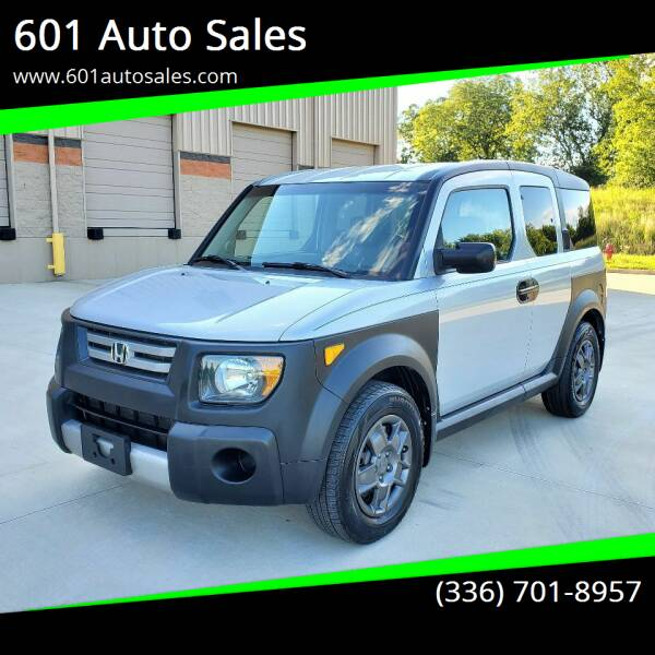 2007 Honda Element for sale at 601 Auto Sales in Mocksville NC