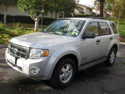 2008 Ford Escape for sale at E MOTORCARS in Fullerton CA