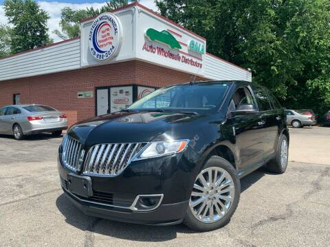 2012 Lincoln MKX for sale at GMA Automotive Wholesale in Toledo OH