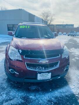 2011 Chevrolet Equinox for sale at Rocket Cars Auto Sales LLC in Des Moines IA
