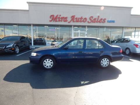 2002 Toyota Corolla for sale at Mira Auto Sales in Dayton OH