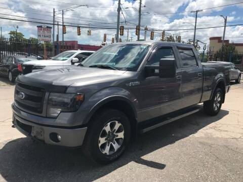 2013 Ford F-150 for sale at SKYLINE AUTO in Detroit MI