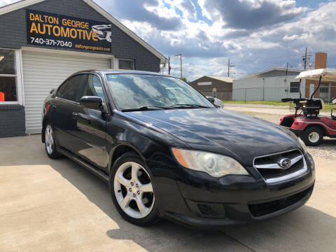 2009 Subaru Legacy for sale at Dalton George Automotive in Marietta OH
