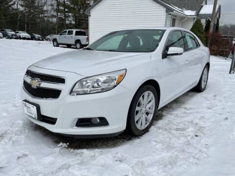 2013 Chevrolet Malibu for sale at Williston Economy Motors in Williston VT