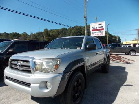 2005 Toyota Tacoma for sale at Deer Park Auto Sales Corp in Newport News VA