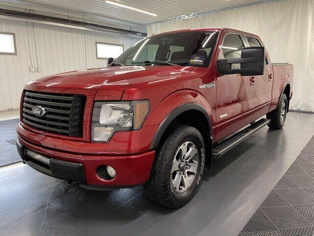 2012 Ford F-150 for sale at Monster Motors in Michigan Center MI