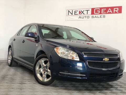 2008 Chevrolet Malibu for sale at Next Gear Auto Sales in Westfield IN