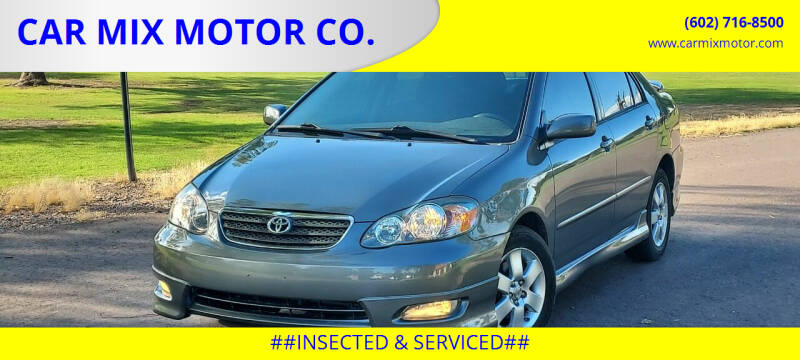 2008 Toyota Corolla for sale at CAR MIX MOTOR CO. in Phoenix AZ