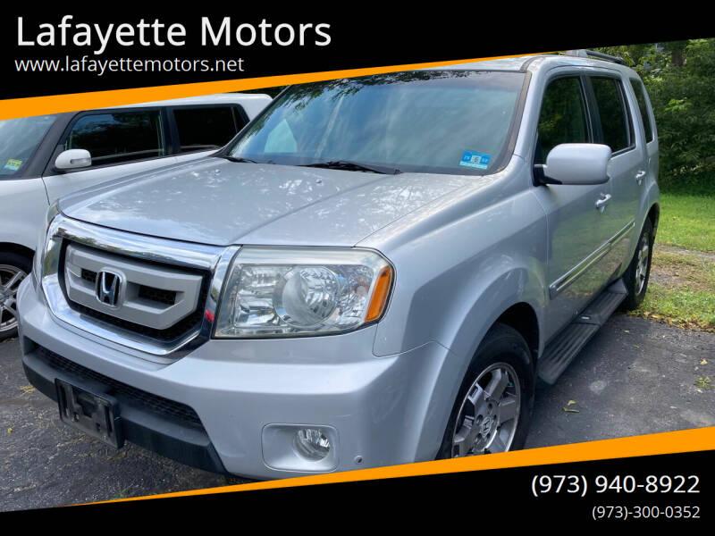 2009 Honda Pilot for sale at Lafayette Motors in Lafayette NJ