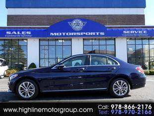 2015 Mercedes-Benz C-Class for sale at Highline Group Motorsports in Lowell MA